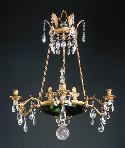 A NEOCLASSIC STYLE ORMOLU, GRE