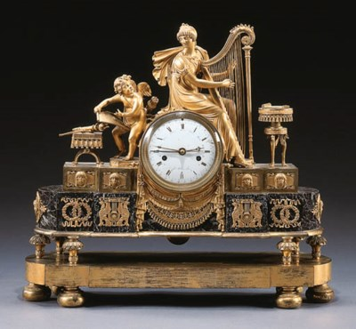 A DIRECTOIRE ORMOLU AND VEINED