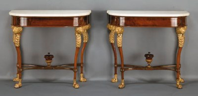 A PAIR OF BALTIC NEOCLASSIC BR