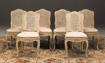A SET OF TWENTY LOUIS XV STYLE