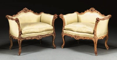 A PAIR OF CONTINENTAL ROCOCO S