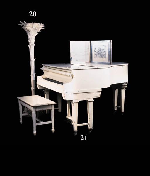 A BABY GRAND PIANO