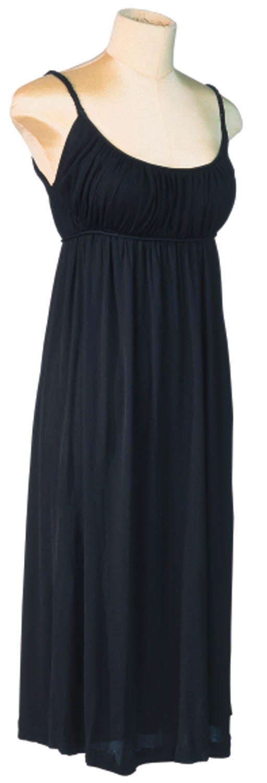 A BLACK SILK JERSEY COCKTAIL DRESS LET'S MAKE LOVE,  1960