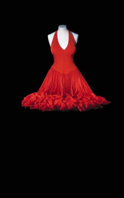 A SCARLET DRESS