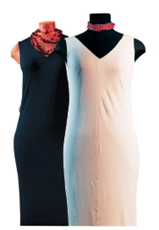 A GROUP OF THREE DRESSES