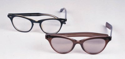 TWO PAIRS OF EYEGLASSES