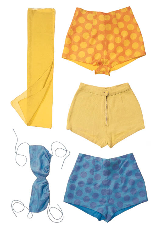 A SELECTION OF SUMMER WEAR