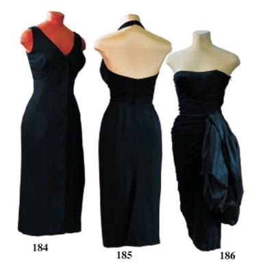 A SILK JERSEY DRESS