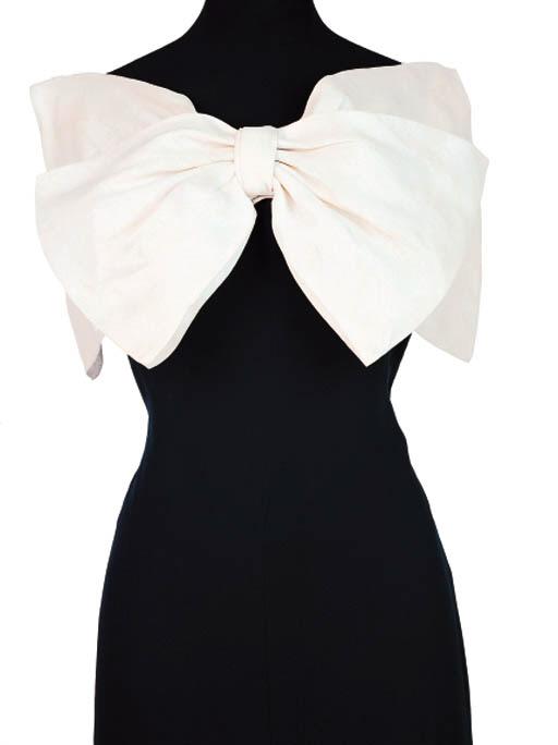 A SILK DRESS