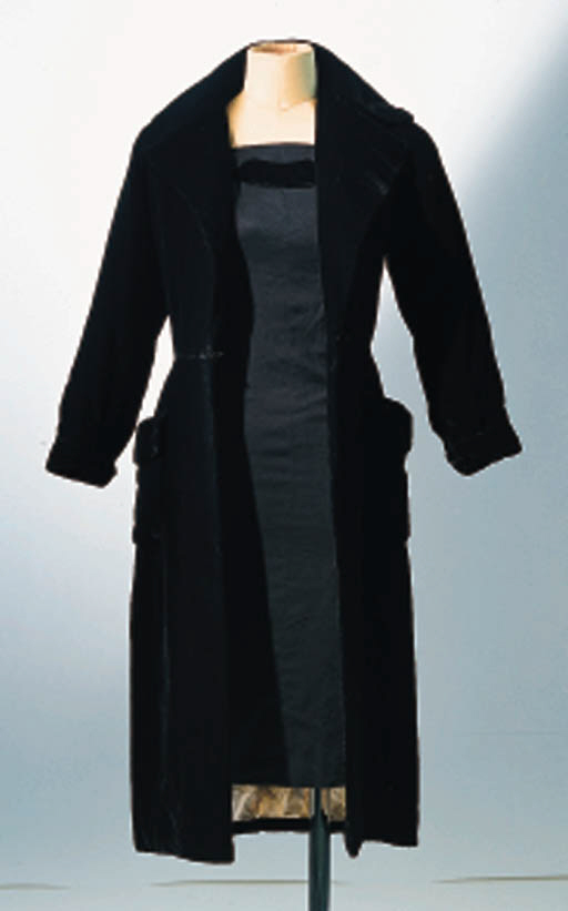 A LINEN DRESS AND COAT