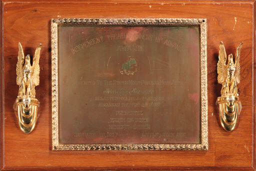 A GROUP OF THREE PLAQUES
