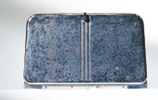 A BREAD BOX AND CANDY MOLD