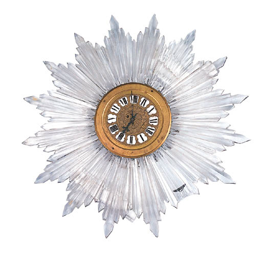 A LOUIS XV STLE CUT GLASS AND