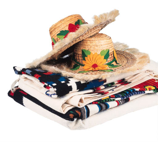 A GROUP OF MEXICAN ITEMS