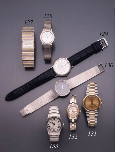 Piaget. An 18K white and yello