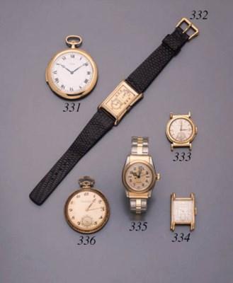 Cartier. A slim and rare 18K g