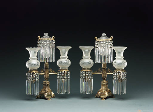 A PAIR OF CLASSICAL ARGAND GIL