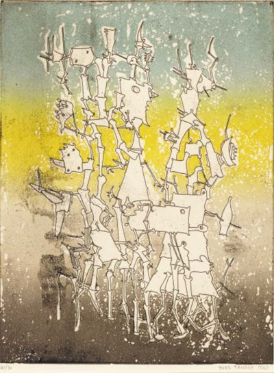 YVES TANGUY (1900-1955)