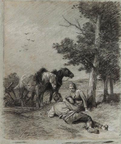 Charles-Emile Jacque (French, 1813-1894)