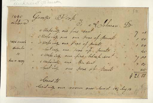 JOHNSON, Andrew (1808-1875), P