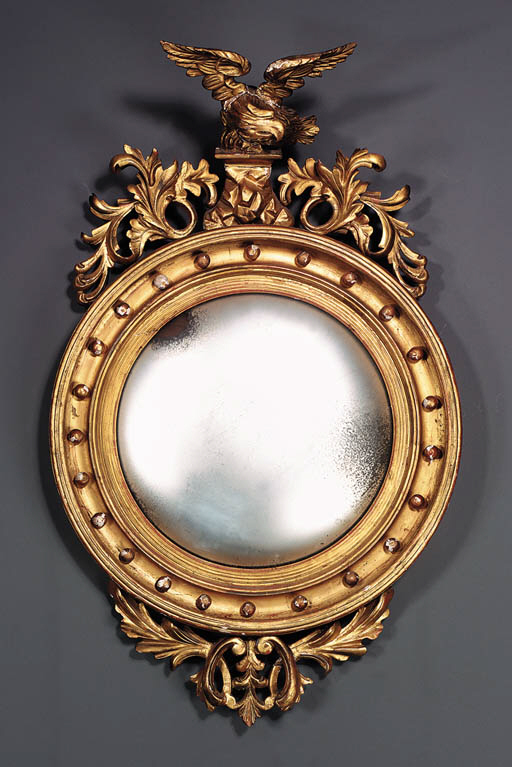 A CLASSICAL CARVED AND GILDED
