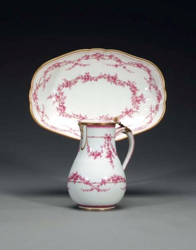 A GILT-METAL MOUNTED SEVRES CA