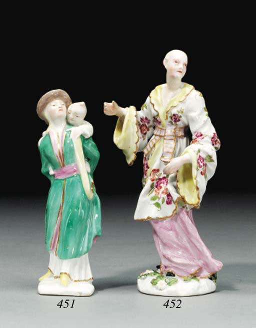 A MEISSEN FIGURE OF A CHINAMAN