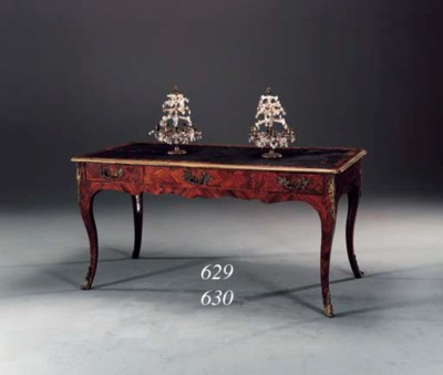 A PAIR OF EARLY LOUIS XV-STYLE