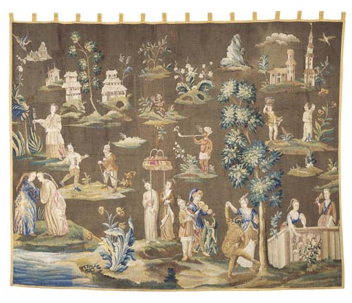 A SOHO CHINOISERIE TAPESTRY