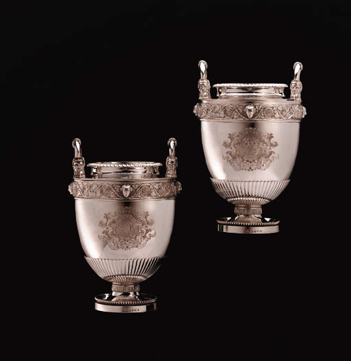 A PAIR OF FINE GEORGE III SILV