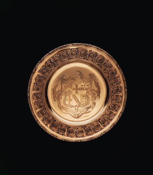A FINE GEORGE III SILVER-GILT