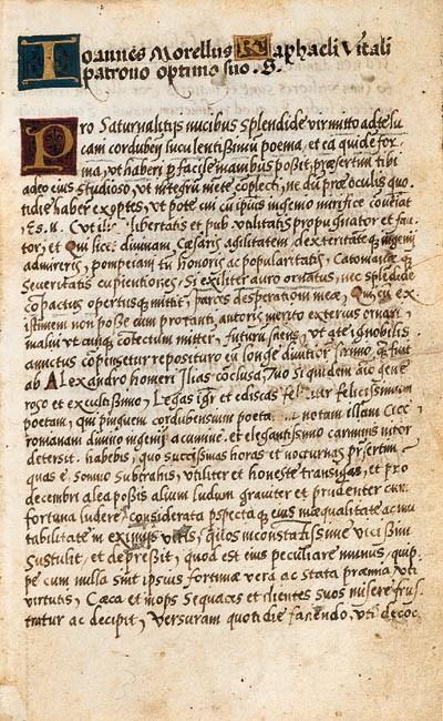 LUCANUS, Marcus Anneus. Pharsa