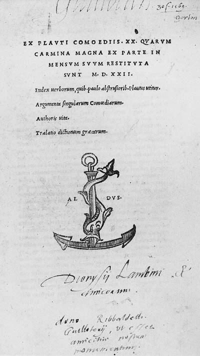 PLAUTUS, Titus Maccius. Ex Com