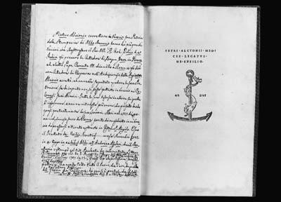 ALCYONIUS, Petrus. Medices leg