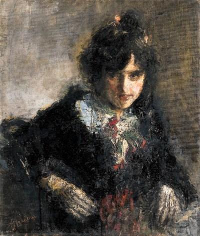 Antonio Mancini (1852-1930)