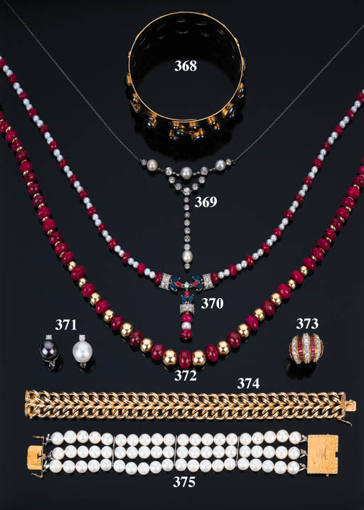 Bracciale in perle coltivate