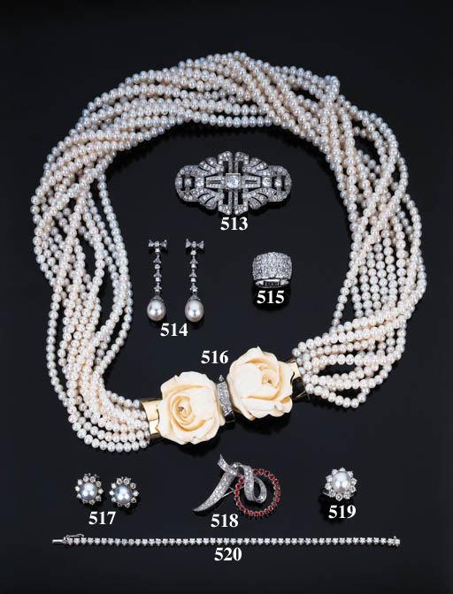 Anello con perla coltivata