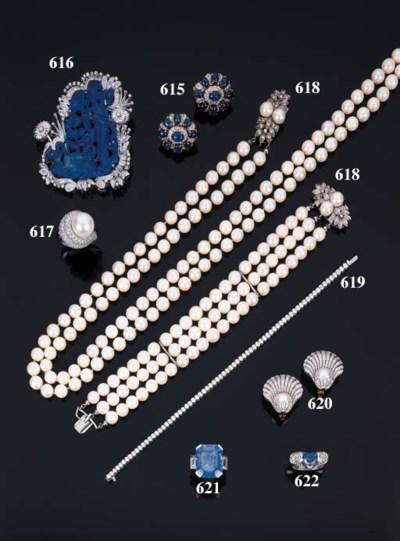 Anello con perla australiana e