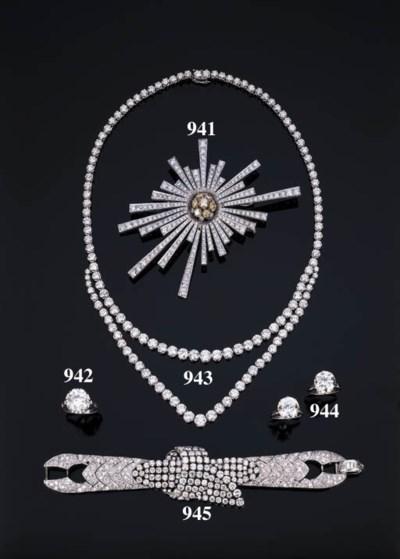 Coppia di anelli con brillante