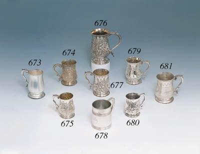 Mug in argento Giorgio III, Lo
