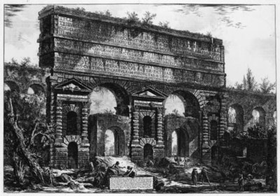 PIRANESI, Giovan battista. Ved