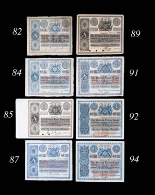 British Linen Company, Specime