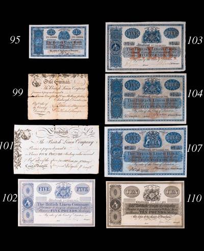 British Linen Bank, 1-Guinea,