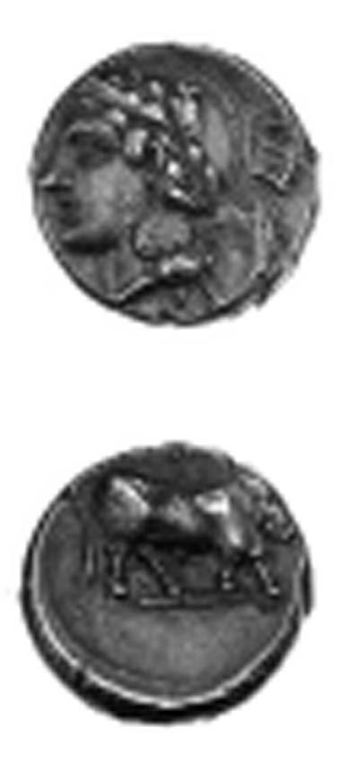 Campania, Hyria (400 - 335 B.C