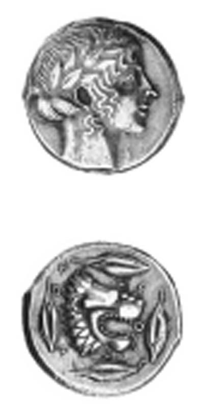 Sicily, Leontini ( 466-425 B.C