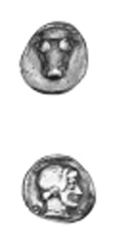 PHOKIS (445-420 B.C.), TRIOBOL