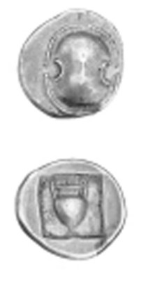BOEOTIA, UNCERTAIN MINT (C. 38