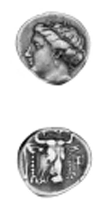 EUBOEA (369-336 B.C.), DRACHM,