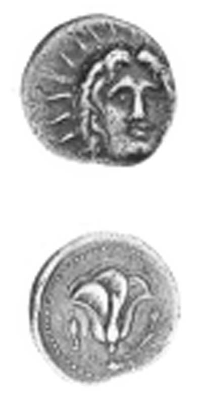 CARIA, RHODES (304-167 B.C.),