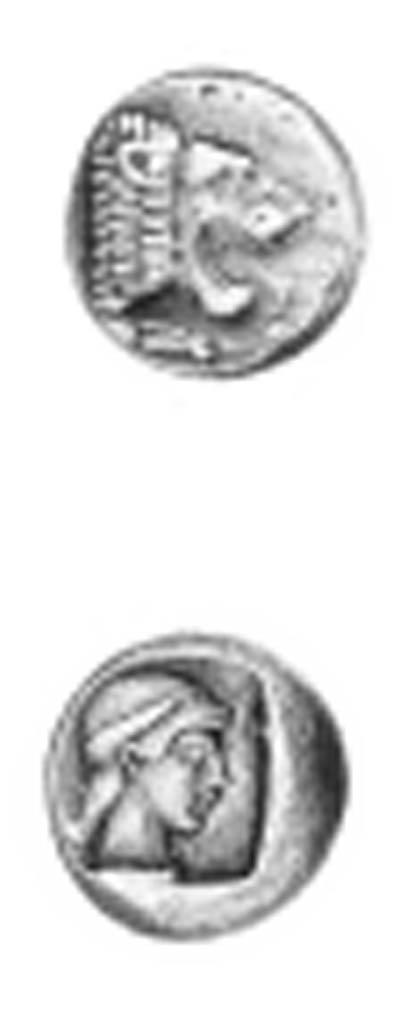 Caria, Knidos (490-465 B.C.),